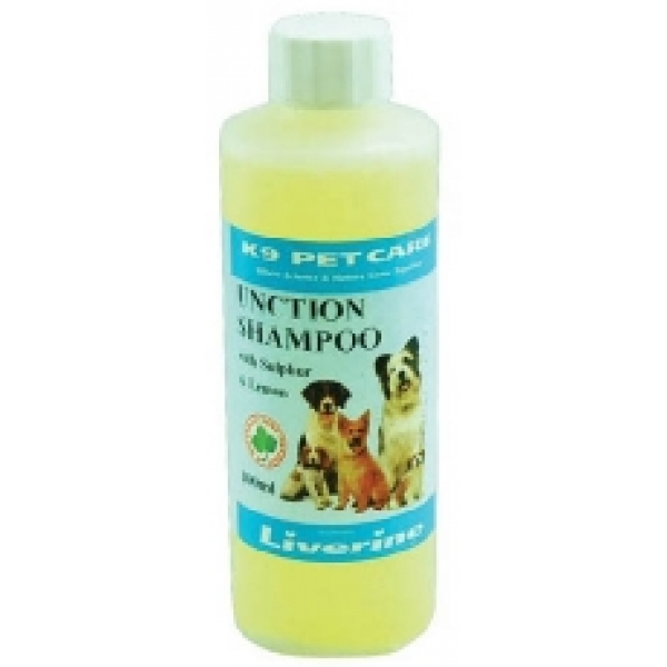 Liverine k9 unction shampoo sulphur 200ml