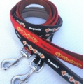 Dogmatic  Lead with Padded Cushion Webbing Gold 20 mm x 1.2 mtr