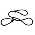 Dog & Co Mountain Rope Slip Lead Black With Grey 150cm
