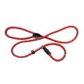 Dog & Co Mountain Rope Slip Lead Red With Black 150cm