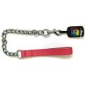 """Bull Terrier Mastiff Chain 1"""" x 26"""" Pink British by Design"""