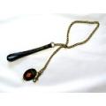 Oakberry Medium Chain Lead Black Handle Hi-craft