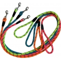 Dog & Co Economy Rope Lead With Trigger Various Neon 120cm