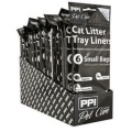 PPI Cat Tray Liners Small To Fit Tray 26 X 36cm