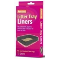 Cat Litter Tray Liners Large 15 pack