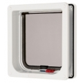 Pet Mate Cat mate Cat Flap Door locking with Liner White