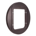 Sure Flap Microchip Cat Flap Mounting Adaptor - Brown