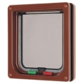 Pet Mate Cat Mate 4 way Cat Flap Door Brown 309b