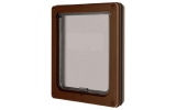 Pet Mate Dog Mate Medium Brown Dog Flap Door