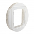 Sure Flap Microchip Cat Flap Mounting Adaptor - White