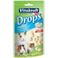 Vitakraft Yoghurt Drops For Rabbits Guinea Pigs And Hamsters 75g