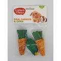 Critters Choice Small Animal Sisal Carrots & Corn