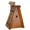 CJ Rimini Thatched Roof  Nest Box 28mm Hole