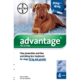 Advantage 400 Flea treatment Dog from 25kg Upwards 4 pipette