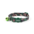 Ancol Safety Buckle Cat Collar Camoflage Green
