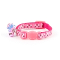 Ancol Kitten Cat Collar Safety Buckle Jewel Pink
