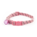 Ancol Safety Elastic Cat Collar Softweave Pink
