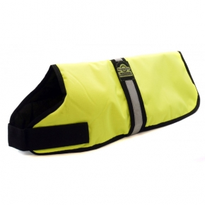 "Animate 26"" Unlined Hi - Vis Dog Coat"