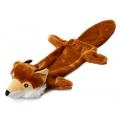 """Animate Fox Stuffed Head Water Bottle Dog Toy 21"""""""