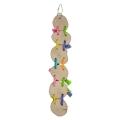 Beakies Java Wood And Spiral Bird Toys