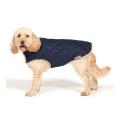 """Danish Design Navy Quilted Dog Coat 65cm 26"""""""