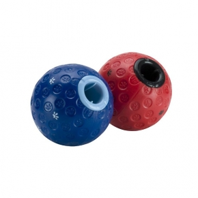 Buster Treat Ball For Dogs Large Red