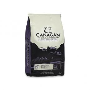 Canagan Light / Senior Dog Food 12Kg