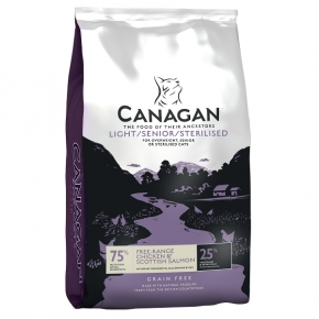 Canagan Light / Senior / Sterilised Cat Food 1.5kg