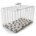 "Large Rectangular Wire Carriers 19 x 12 x 12"" Pennine"