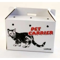 PPI Cardboard Pet Carrier 13 x 18 inch