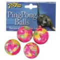 Petlove Ping Pong Balls for Cats 4 Pack
