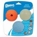 Chuckit Fetch Medley 3 Pack Assorted Medium 6.5cm