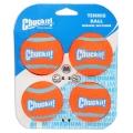 Chuckit Tennis Ball 4 Pack Medium 6.5cm