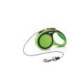 Flexi Comfort X Small Green Cord 3m