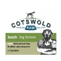 Cotswold Raw Lamb Leg Bones Three Pack Frozen