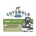 Cotswold Raw Lamb Neck Bone Frozen