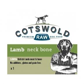 Cotswold Raw Lamb Neck Bone Frozen