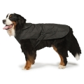 "Danish Design 2 In 1 Harness Dog Coat Black 35cm 14"""
