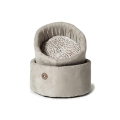 Small Arctic Cosy Cat Bed - 42cm Danish Design