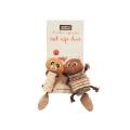 "Danish Design Chip & Chap The Chipmunk Duo Catnip Duo 6"" Cat Toy"