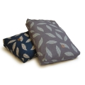 Danish Design Retreat Eco-Wellness Feather Navy/Stone Duvet Large 87cm x 138cm