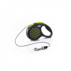 Flexi Design X Small Green Cord 3m