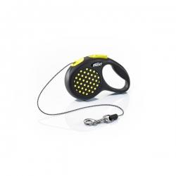Flexi Design X Small Yellow Cord 3m