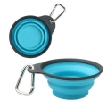 Dexas Popware Collapsible Travel Cup Blue Small 1 Cup/8oz