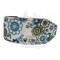 "Do & G Oriental Silk Bohemian Collar 2"" X 14 - 18"""