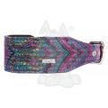 "Do & G Oriental Silk Paisley Collar 2"" X 14 - 18"""