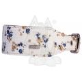 "Do & G Oriental Silk Flower Collar 2"" X 14 - 18"""