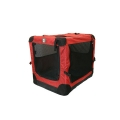 Dog Life Extra Large Canvas Pet Carrier In Red 92 X 62 X 69 Cm
