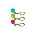 Tuffs Dog Life Medium TPR Ball & Rope