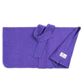 "Dogrobes Drying Coat Extra Large Limited Edition Purple Girth - Length – 36"" - 91Cm"
